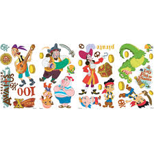 jake and the never land pirates wall stickers stickers for wall com never land wall stickers