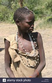 africa tanzania lake eyasi young teen hadza female a small tribe