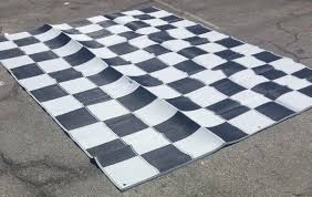 Outdoor Rug 9 X 12 Rv Patio Awning Mat Reversible Outdoor Rug 9x12 Black Silver