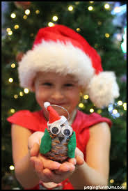 diy pinecone owl christmas ornament pinecone owls pinecone