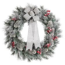 beststmas wreaths for the front door in artificial