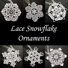 multi season lace ornaments collection polkadot orchid embroidery
