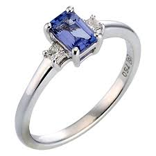 tanzanite engagement ring tanzanite rings ernest jones