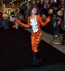 Tigress Halloween Costume Body Paint Tony Tigress Grassy Knoll Institute