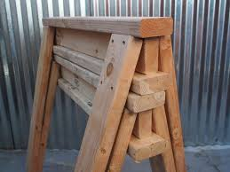 How To Build A Shed Out Of Scrap Wood by How To Build Stackable Sawhorses