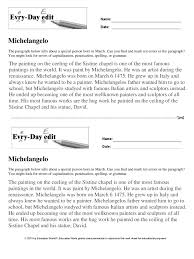 Sustained Silent Reading Worksheet Education World Every Day Edit Michelangelo Download