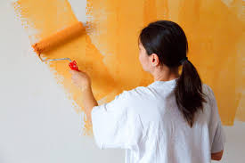 1 minute life hack painting your wall in a smart way