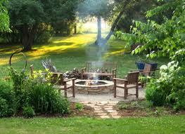 35 landscaping ideas for fire pits outdoor fireplaces firepits