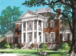 antebellum house plans small homes with porches plantation house plans with columns tara