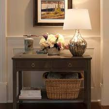 Foyer Table With Drawers 5 Drawer Console Table Design Ideas