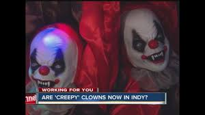 halloween city marion indiana creepy clown sightings indianapolis police say they have taken