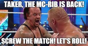 Undertaker Meme - undertaker brock leaner laugh memes imgflip