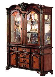 amazon com acme 04079b chateau de ville hutch and buffet cherry