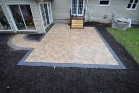 Large Pavers For Patio Paver Patio Be Equipped Cobblestone Pavers Be Equipped Patio