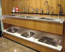 Concrete Kitchen Sink by Trueform Concrete Is Featured In Karl U0027s Appliance New Paramus Nj