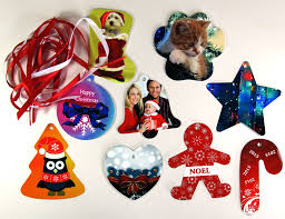 unisub aluminium decorations for dye sublimation printing