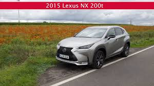lexus hybrid compact suv fahrbericht lexus nx 200t f sport kompakt suv youtube