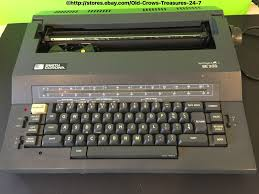 smith corona se 200 spell right i electric typewriter electric