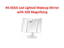assis led lighted makeup mirror top 10 best makeup mirrors reviews