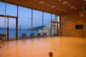 Cliff Barn Sea Cliff Addition Gym Indoor Basketball Court Pinterest