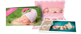 saal design design baptism cards with photos of your baby