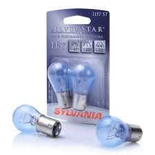 sylvania 36469 silverstar stop brake light replacement bulbs 1157