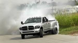 Ford Diesel Trucks Mudding - crazy dually truck fishtail burnout video youtube