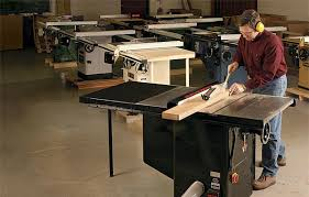 table saw reviews fine woodworking tool test 10 in cabinet saws finewoodworking