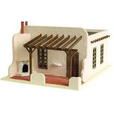 adobe house the adobe house kit 1 144th scale dollhouse other scales
