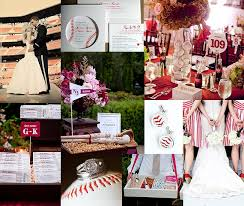 baseball themed wedding i m not brave or enough to actually do this but i it