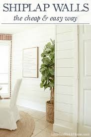Where To Buy Fireplace Doors by Shiplap Walls The Cheap U0026 Easy Way Little Red Brick House