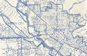 Boise Greenbelt Map Water And Industry In The West End 1900 1950 Urban Environmental