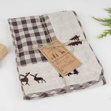 Christmas Plaid Table Runner by Winter Wonderland Stag Table Runner By Dibor Notonthehighstreet Com