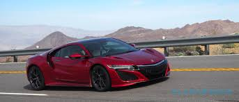 acura supercar here come the first 2017 acura nsx supercars slashgear