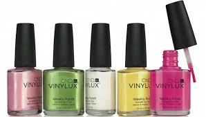 cnd vinylux nail polish like a 7 day shellac no salon or uv lamp