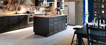 cuisine plan de travail bois cuisine bois noir ikea photos de design d intérieur et