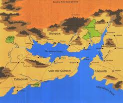 Faerun Map River Heldar Forgotten Realms Wiki Fandom Powered By Wikia