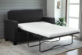 Memory Foam Mattress For Sofa Bed by Signature Sleep Mattresses Casey Faux Leather Twin Size Sleeper