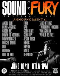 Blind Fury Album Sound And Fury Fest Announces Initial Lineup Guns Up Nails