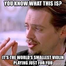 Violin Meme - mr pink small violin meme generator
