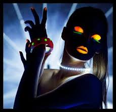 glow in the party ideas for teenagers glow make up site links to party ideas imagine posting pics