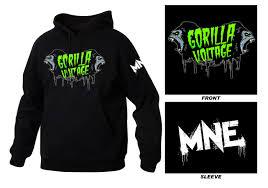 gorilla voltage hoodie