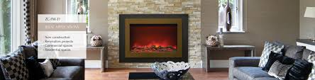 sunshiny zero clearance electric fireplace sierra flame gas for