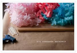 streamer backdrop diy festive streamer backdrop from of heart of light diy