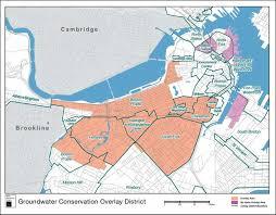 Boston Mass Map by Maps Boston Groundwater Trust