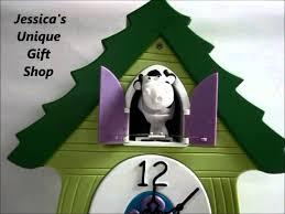 moo coo cow clock youtube