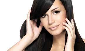 highlights and blow dry top hair design groupon