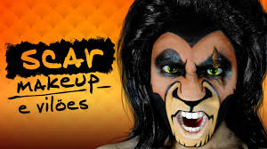 scar the lion king makeup youtube