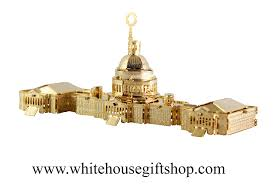 White House Christmas Ornament - the united states capitol building ornament and model is a perfect
