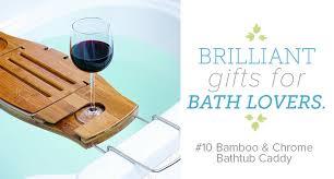umbra aquala bathtub caddy brightnest 12 must have gifts for bath lovers